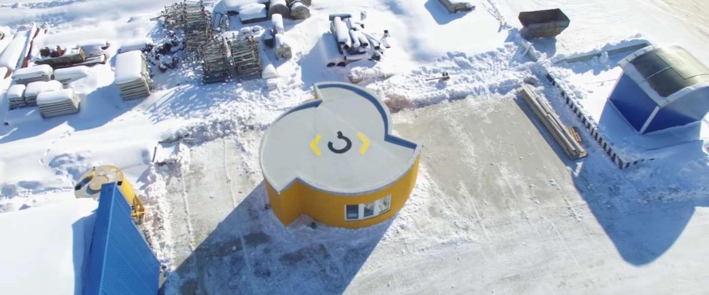 Mobiele 3D-printer bouwt binnen 24 uur een compleet huis