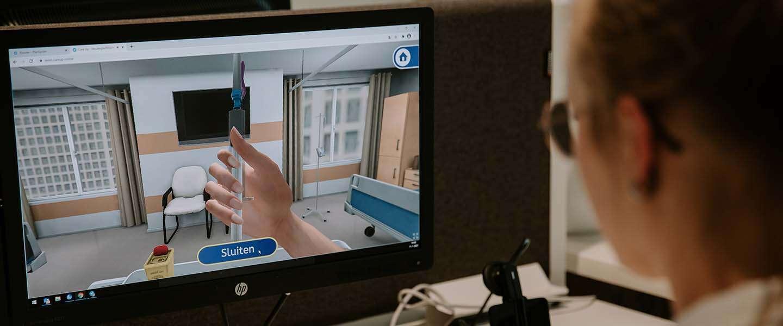 3D simulatie game helpt zorgpersoneel te oefenen met vaccineren