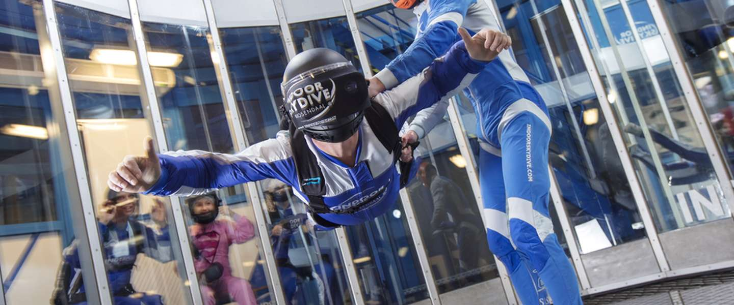 4D entertainment in een windtunnel: VR Skydive is een gaaf begin
