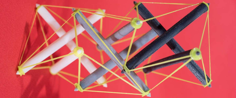 Researchers vinden manier om 4D te printen: 3D plus tijd