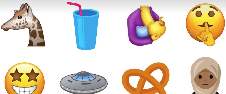 Er komen nóg 56 nieuwe emoji, waaronder de hoofddoek-emoji