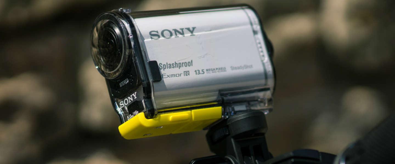 Nieuwe versie Sony Action Cam AS20