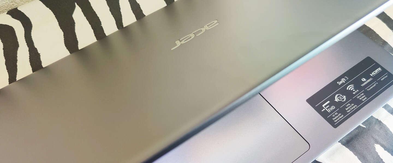 Acer Swift 3 SF316-51-51BS: een luxe laptop voor onderweg