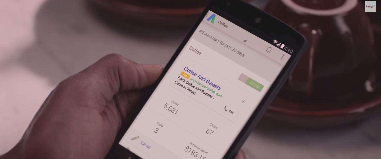 Google lanceert gratis AdWords Express App voor iOS en Android