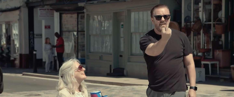 Netflix-serie 'After Life' kondigt nu al tweede seizoen aan