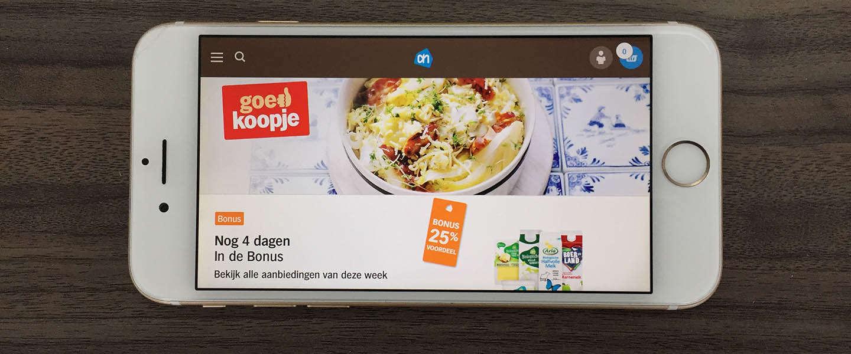 Albert Heijn scoort in Nederland het best met mobile commerce
