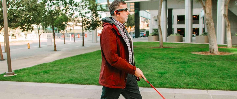 Augmented reality helpt blinde mensen