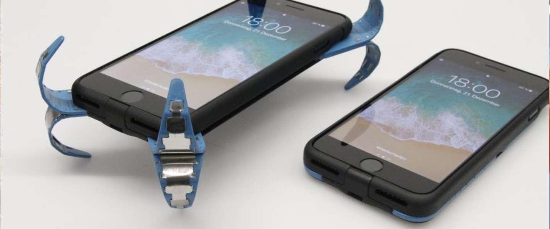 Heel gaaf: student maakt airbag-case voor je smartphone