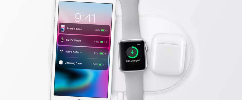 Apple krijgt de draadloze AirPower-oplaadmat niet aan de praat