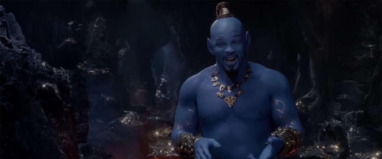 Nieuwe beelden tonen Will Smith als de Geest in Aladdin