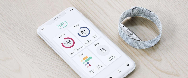 Amazon Halo een AI gedreven gezondheidstracker zonder scherm