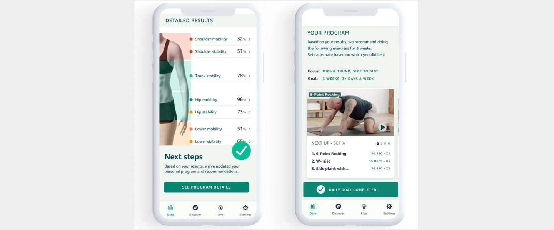 Amazon Halo biedt workouts op basis van jouw bewegingen