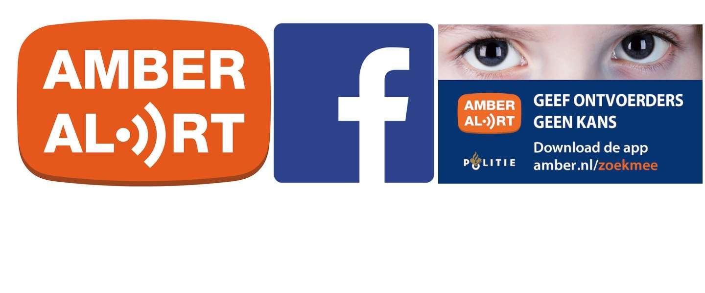 Amber Alerts nu direct op de facebook tijdlijn van 9 miljoen Nederlanders