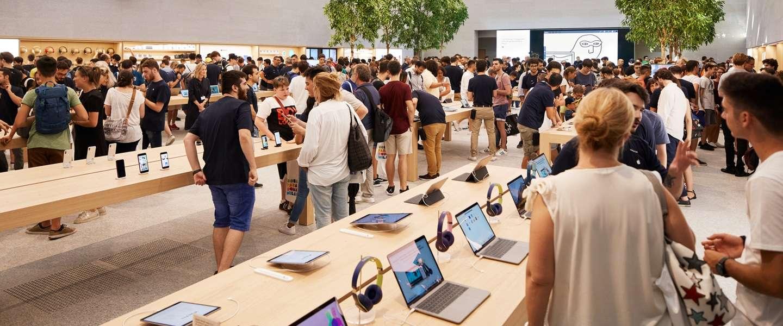 Apple's strategie om alles maar duurder te maken blijft werken