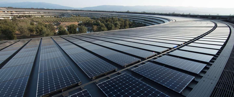 Apple claimt nu 100% op vernieuwbare energie te draaien