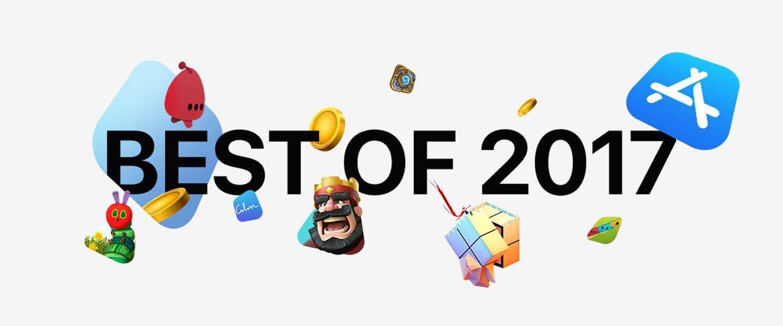 App store 2017: Apple showt beste apps en populairste muziek