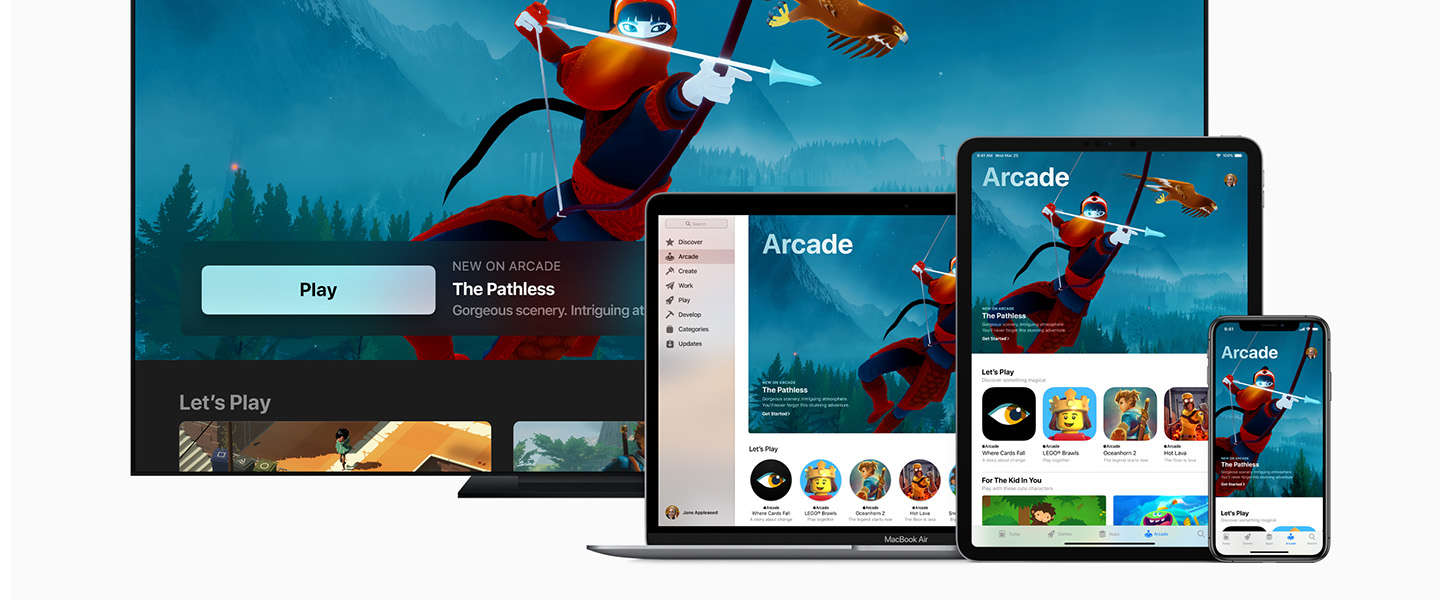 Apple Arcade is een gamingservice voor mobiele devices, desktops en tv's