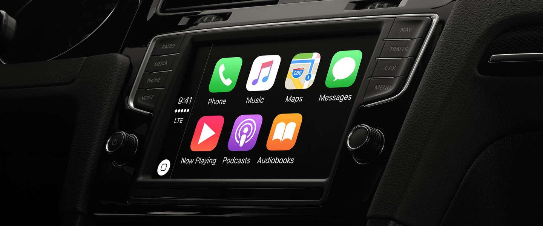 Apple's Carplay nu in meer dan 200 auto's beschikbaar