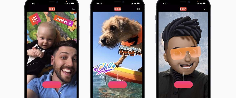 Video's maken en monteren met je iPhone nu nog makkelijker met vernieuwde Apple Clips 3.0