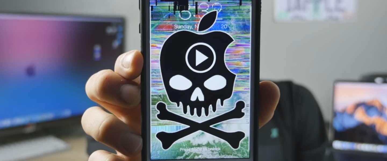 Deze gevaarlijke video crasht je iPhone of iPad
