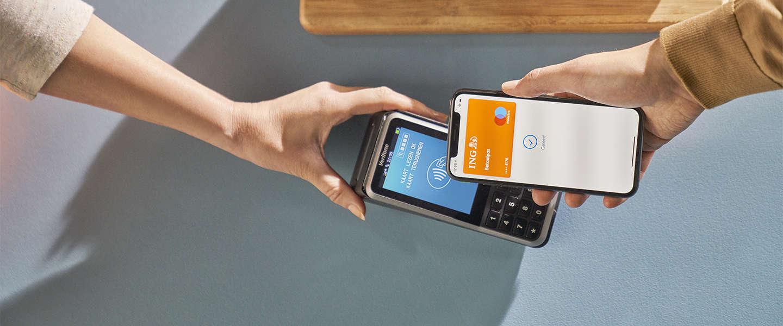 Apple Pay nu beschikbaar voor klanten van ING