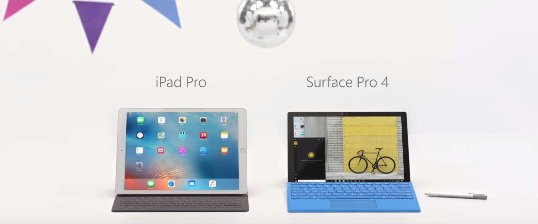 Microsoft haalt uit naar Apple in nieuwe reclame