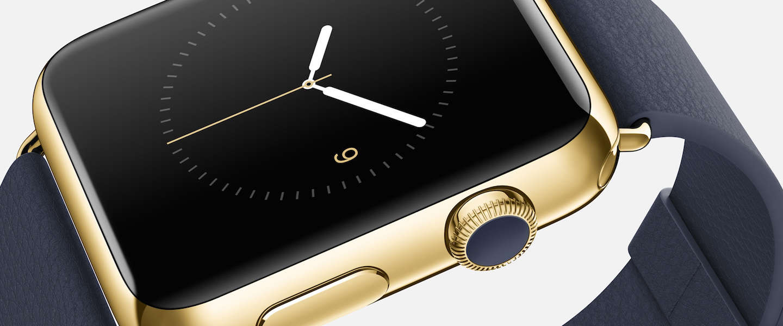 Hilarische parodie op gouden Apple Watch