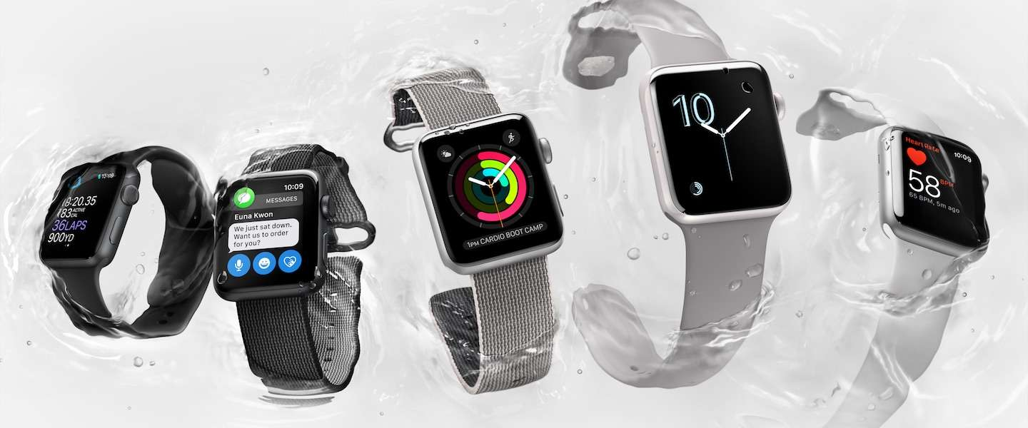 Dit is de nieuwe Apple Watch Series 2