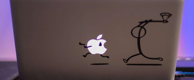 Is de handelsoorlog in Apple's nadeel?