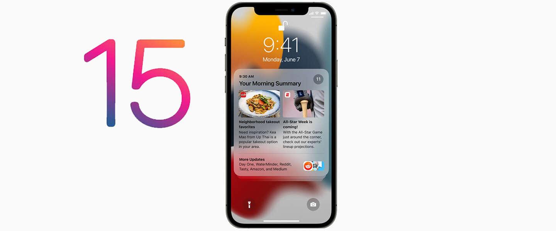 Apple toont iOS 15 en FaceTime komt naar Android en Windows