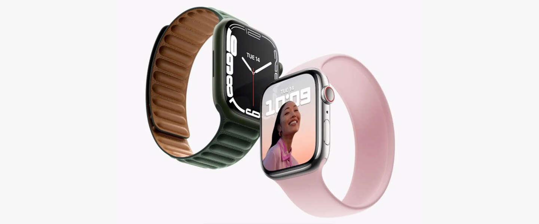 Apple Watch Series 7 is groter: de randen blijven nog rond