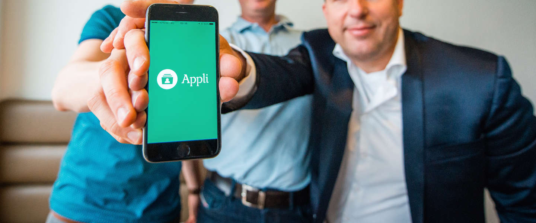 Appli: Tinder voor bedrijven en stagiaires