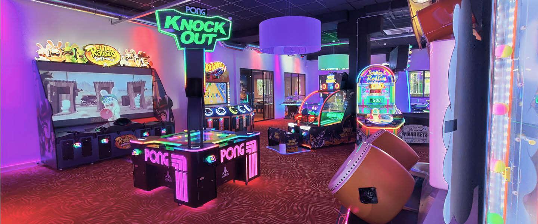 Amsterdam Noord is een entertainmenthal mét arcades rijker