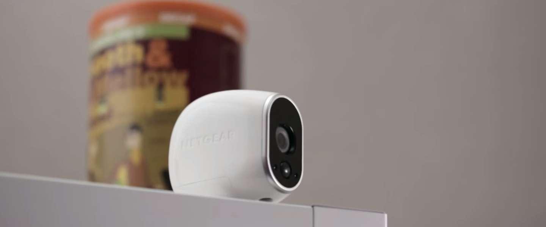 Netgear's Arlo camera houdt een oogje in het zeil