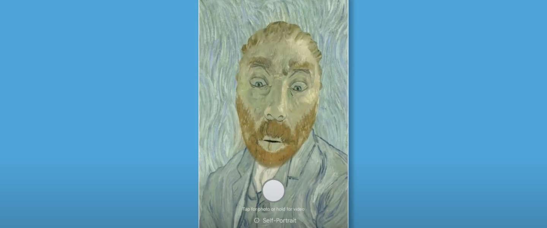 Nieuwe Art Filter Google: Kruip zelf in de huid van Vincent van Gogh