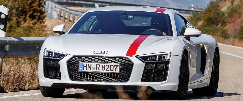 Nog meer rijplezier met de nieuwe Audi R8 V10 RWS