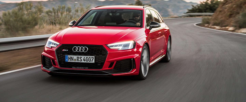 De nieuwe Audi RS 4 Avant, vierde generatie!