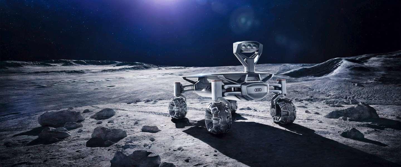 Volgend jaar gaat er een Audi naar de maan
