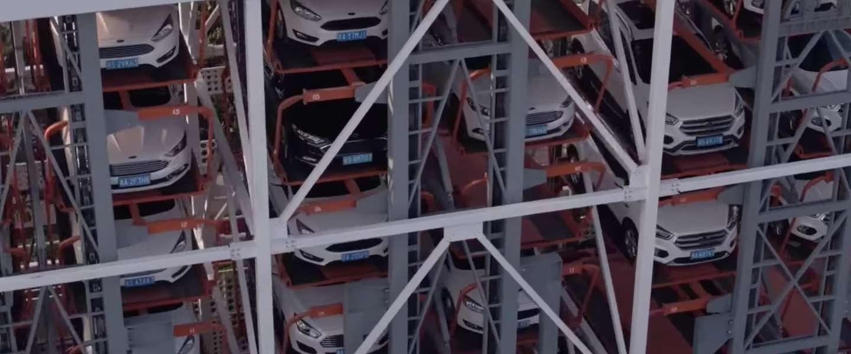 Ford heeft een gigantische auto-automatiek in China neergezet
