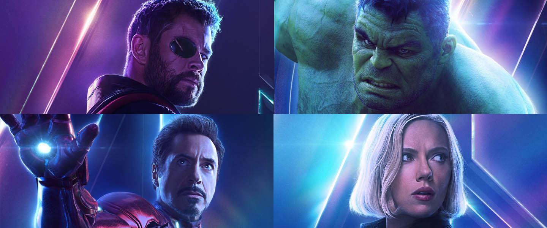 Filmposters Voor Alle Helden Uit Avengers Infinity War