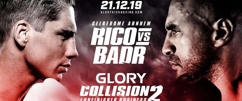 Vanavond Rico tegen Badr in GLORY: Collision 2
