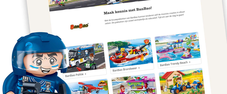 Speelgoedmerk BanBao opent shop-in-shop op bol.com