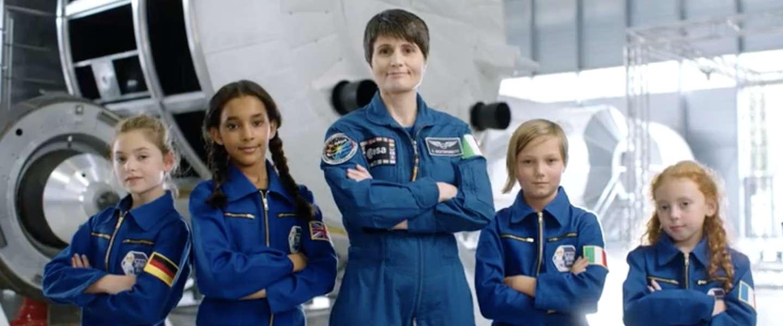 Barbie moet meisjes enthousiast maken voor ruimtevaart