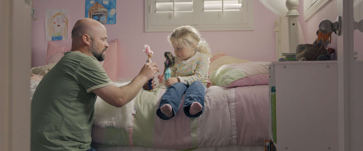 Nieuwe Barbie-campagne richt zich op vaders: 'you can be anything'
