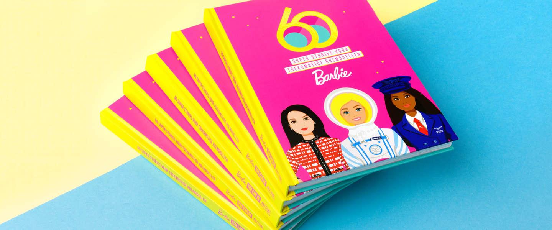 Barbie viert 60 jaar inspireren