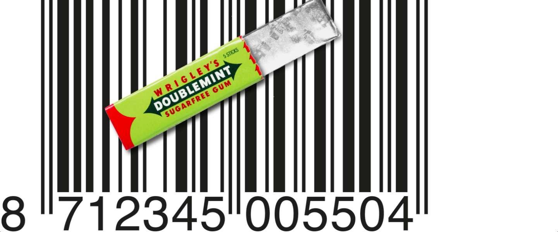 De barcode is 43 jaar en springlevend