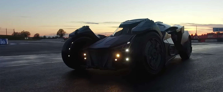 Een Batmobiel powered by Lamborgini