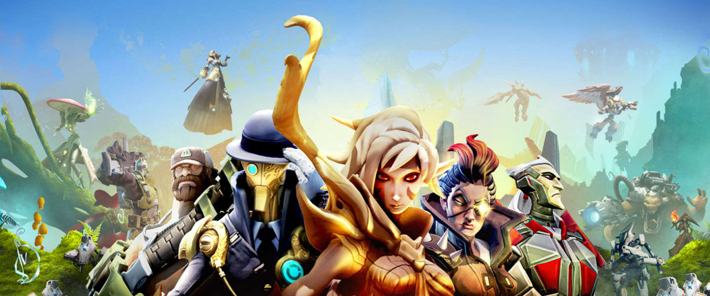 Gespeeld op First Look: Battleborn