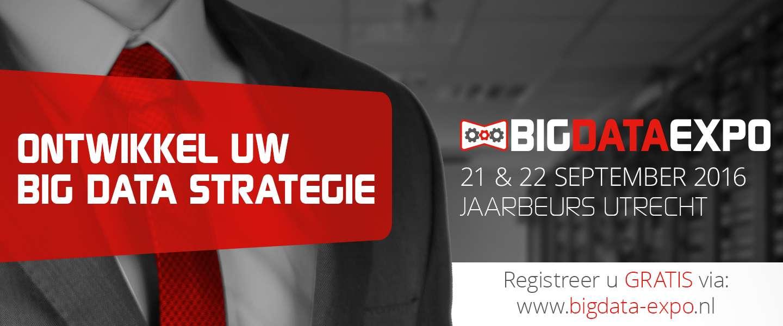 Ontwikkel uw big data strategie tijdens Big Data Expo