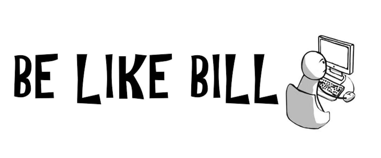 Be Like Bill: jezelf gedragen op social media